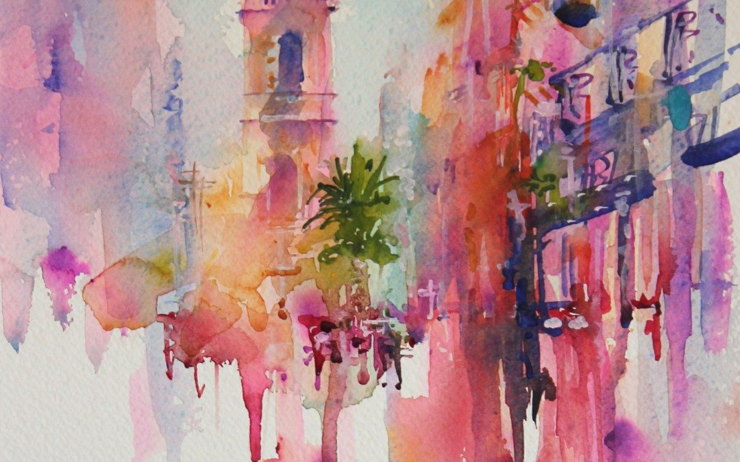 Explore a World of Watercolour with international artist, Jean Haines.