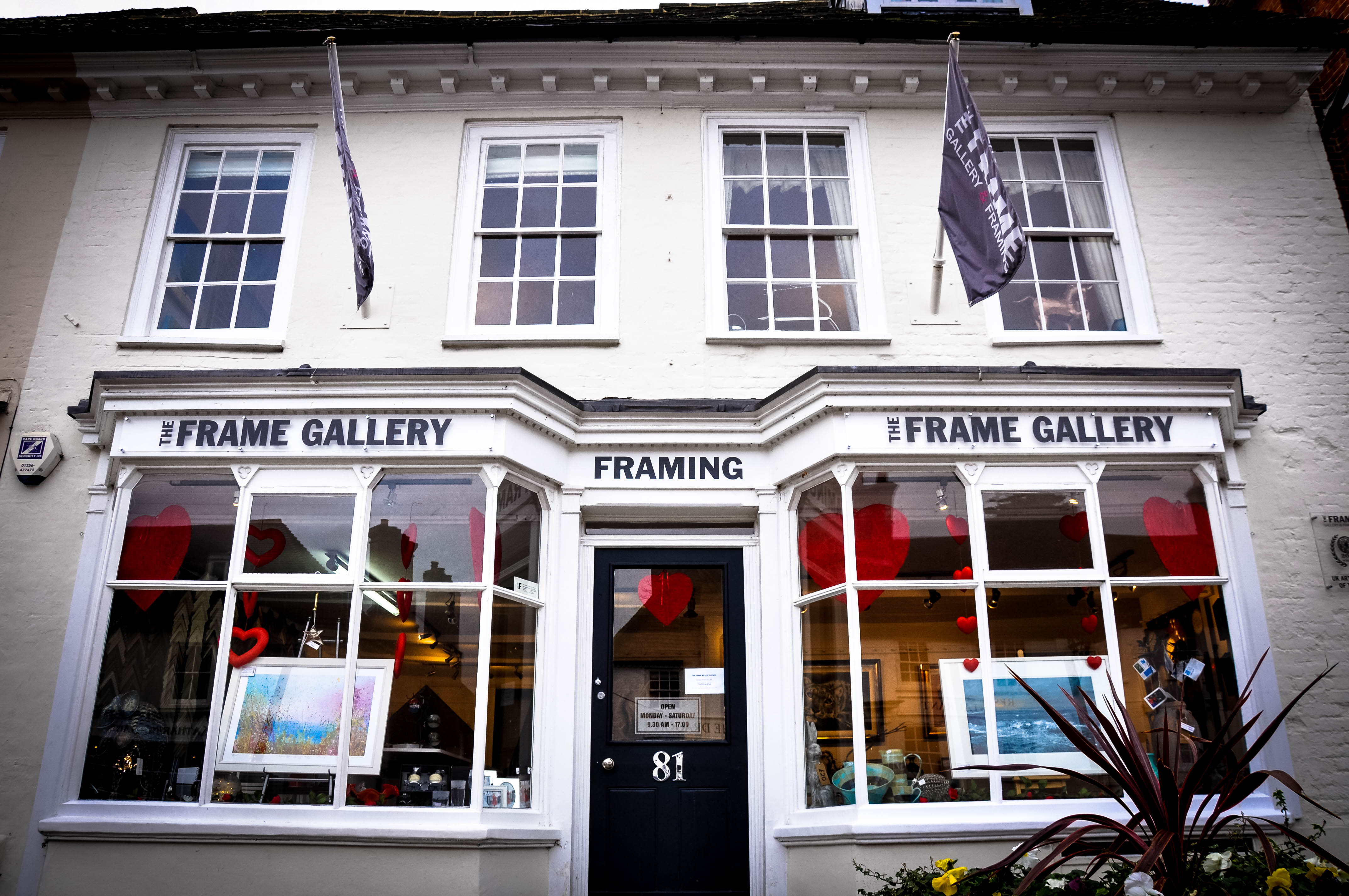 Whether you are interested in our artwork, art exhibitions or require a custom frame to be made The Frame Art Gallery in Odiham would love to hear from you.