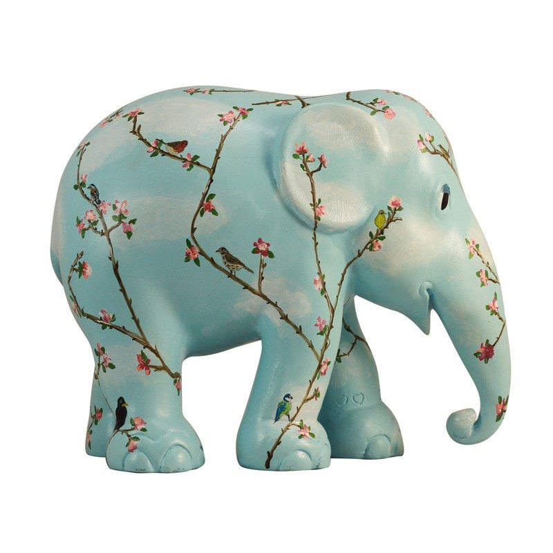 blossom and birds Elephant Parade now available at The Frame Odiham