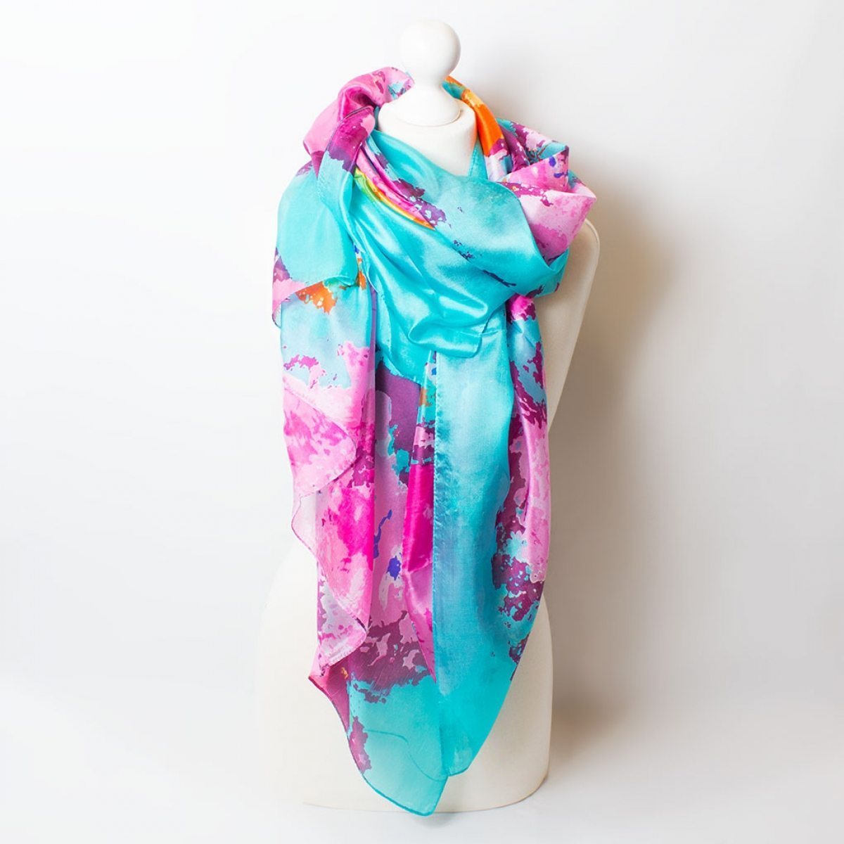 709 Turquoise and Pink