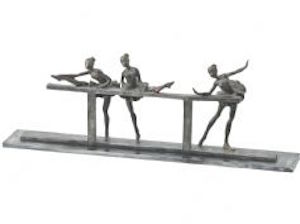 Trio of ballet dancers at The Frame Gallery in Odiham
