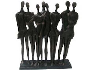 standing companions sculpture available at the frame odiham
