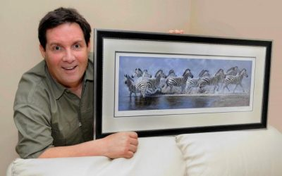 Pip McGarry Paintings Stolen from Marwell Zoo