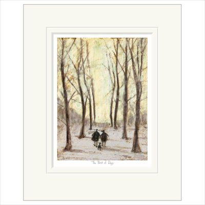 The Best of Days by Sam Toft, is available at the Frame in Odiham.