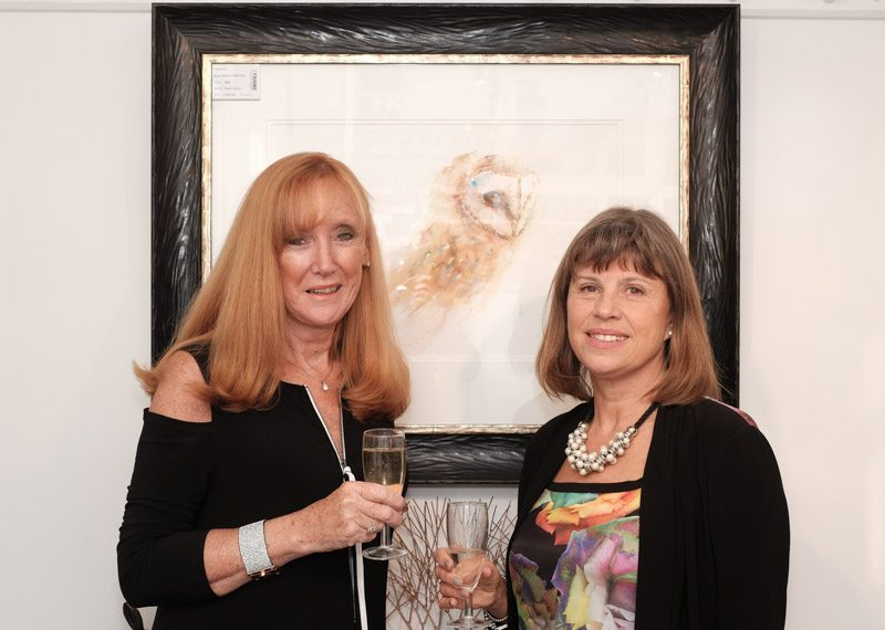 Artist Returns with Flair to The Frame Gallery