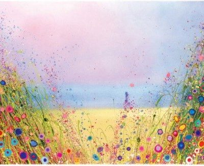 Golden Days by Yvonne Coomber avialable at The Frame Gallery in Odiham.