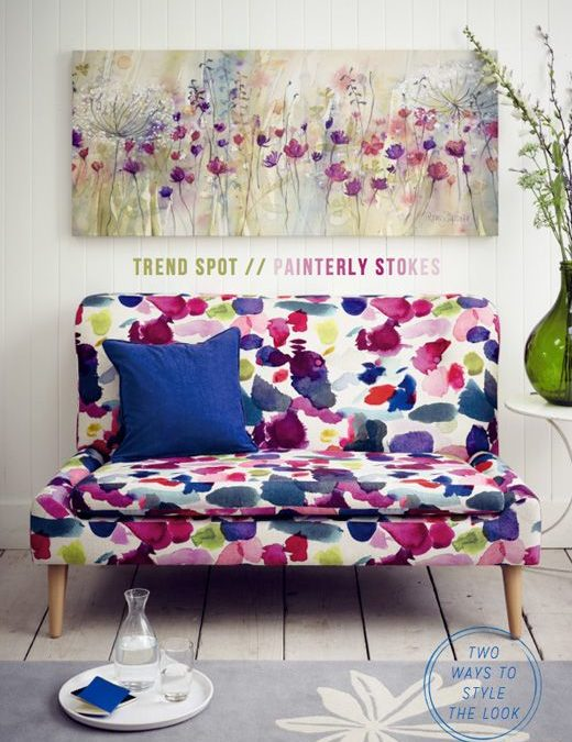 Painterly inspiration for your home